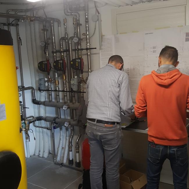 Progettazione Impianto Elettrico Domotico e Asservimenti Centrale Termica