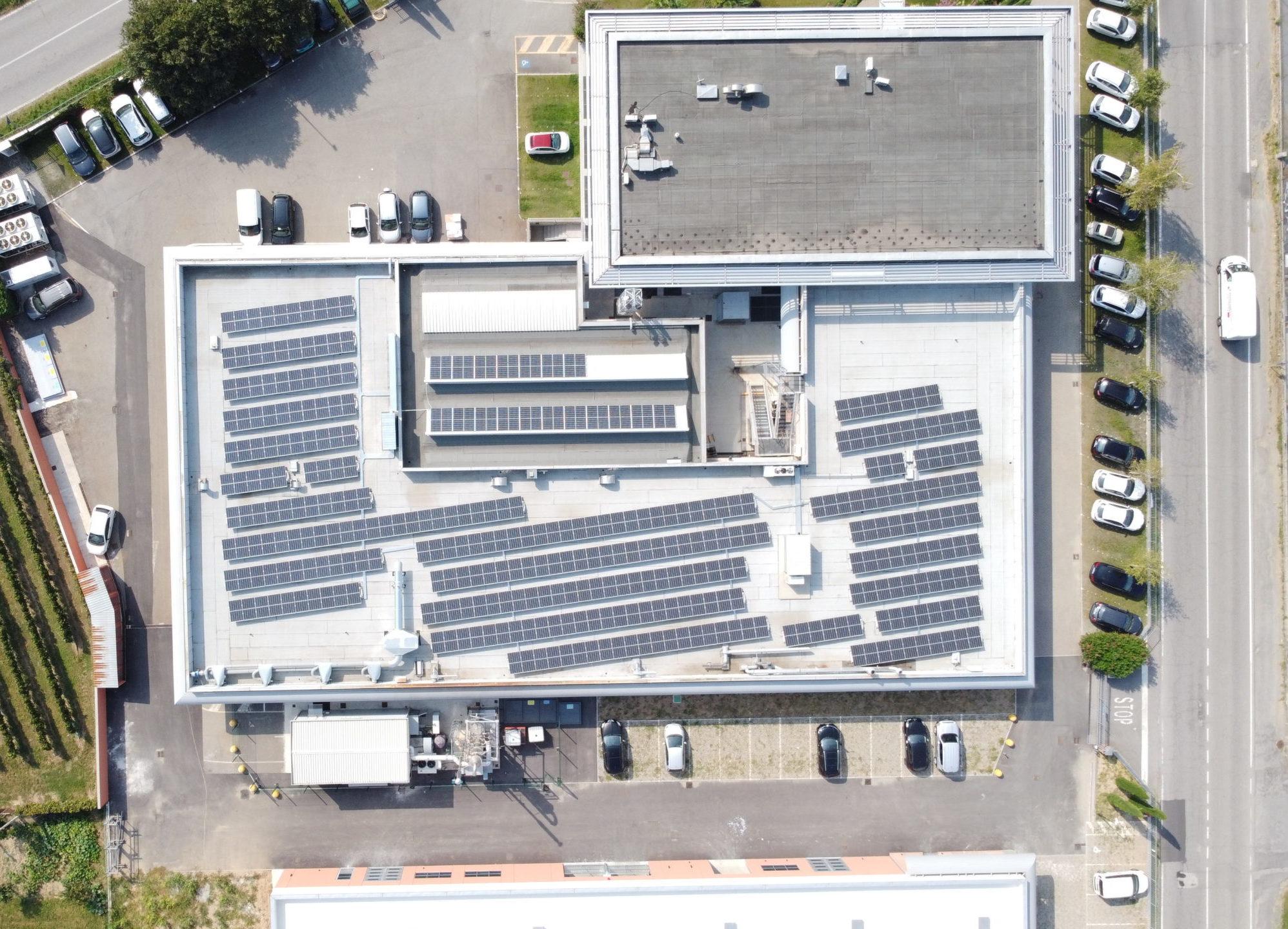 Impianto Fotovoltaico 120KWP